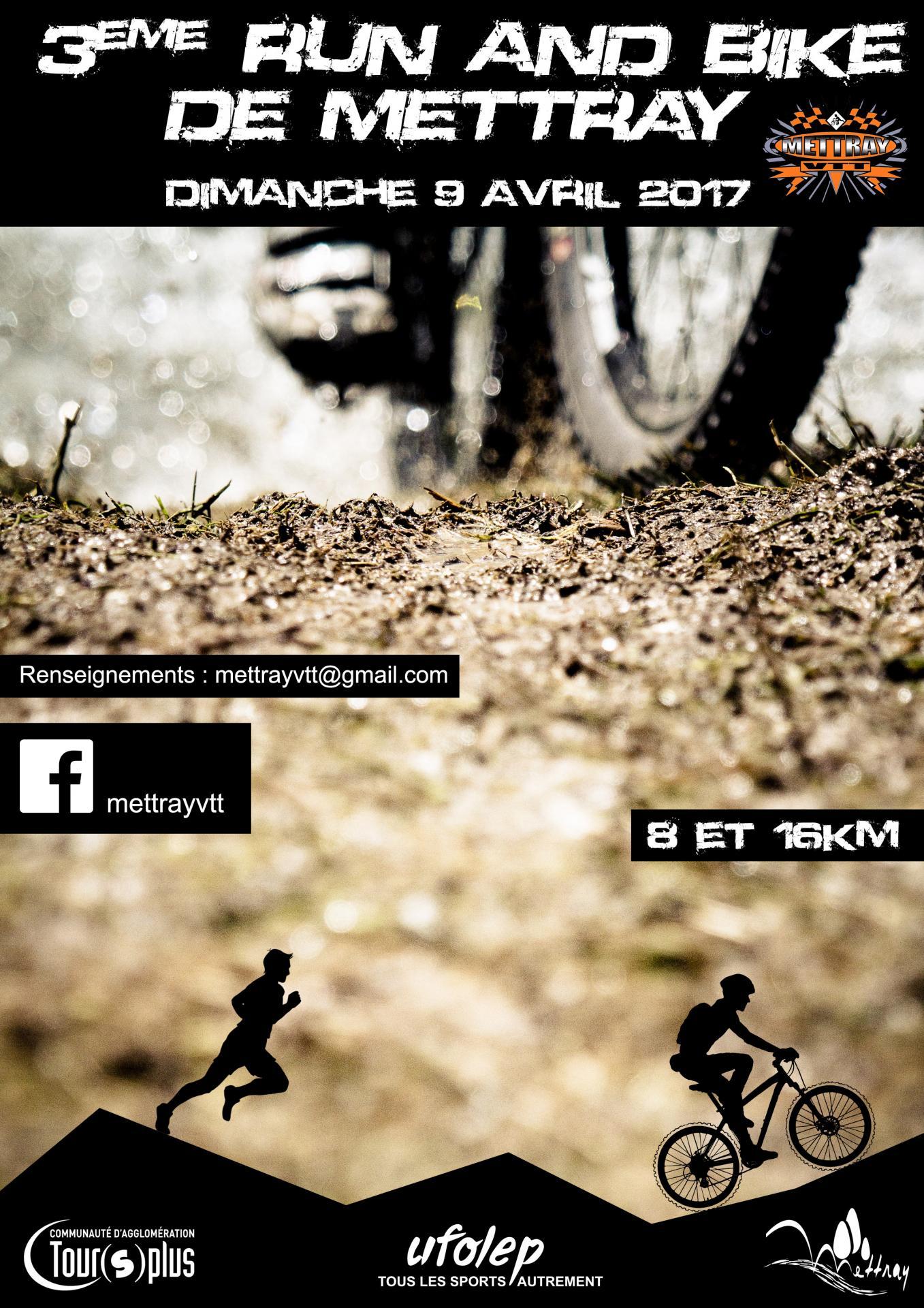 Run and bike 2017